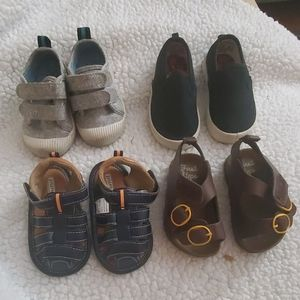 Baby boy shoes, size 4